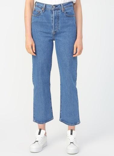 Levi's® Levis Ribcage Straight Ankle Denim Pantolon Renksiz
